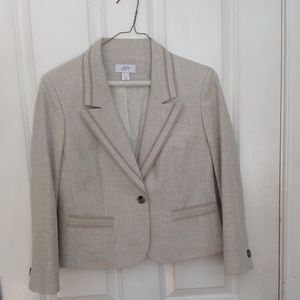Ann Taylor Strapless Dress with Jacket
